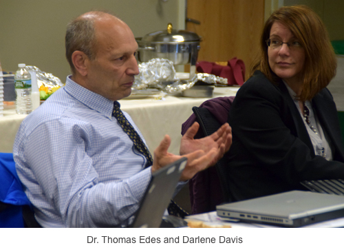 Dr. Thomas Edes and Darlene Davis