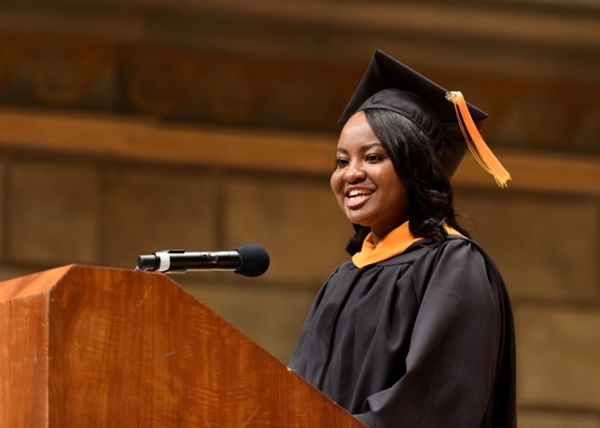 Kaydean Harris commencement speaker